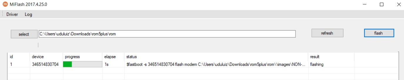 Flash Recovery Rom Miui